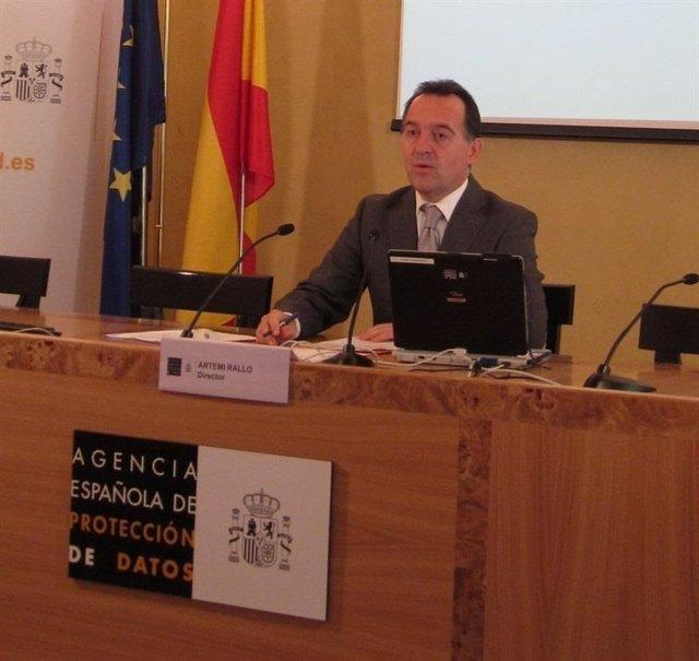 Artemi Rallo diputado del PSOE