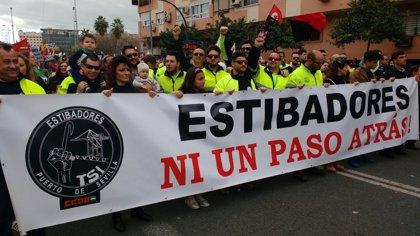 Patronal y sindicatos de la estiba retoman el martes la negociación