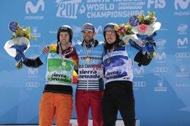 Lucas Eguibar, subcampeón del mundo de snowboard cross