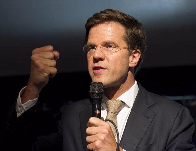 Líder del VDD, Mark Rutte, partido liberal holandés
