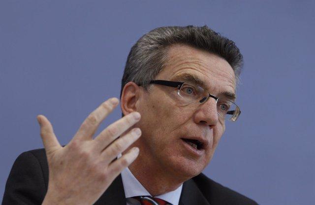 Ministro de Interior de Alemania, Thomas de Maiziere