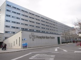"""Un paciente """"en gran estado de agitación"""" provoca un altercado este mediodía en urgencias del hospital San Pedro"""