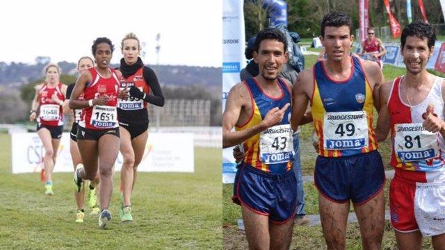 Trihas Gebre y Adel Mechaal, campeones de España de cross