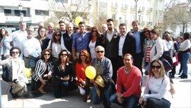 """Cs reclama el AVE para Granada y defiende crear """"un gran pacto"""" por el ferrocarril en la provincia granadina"""