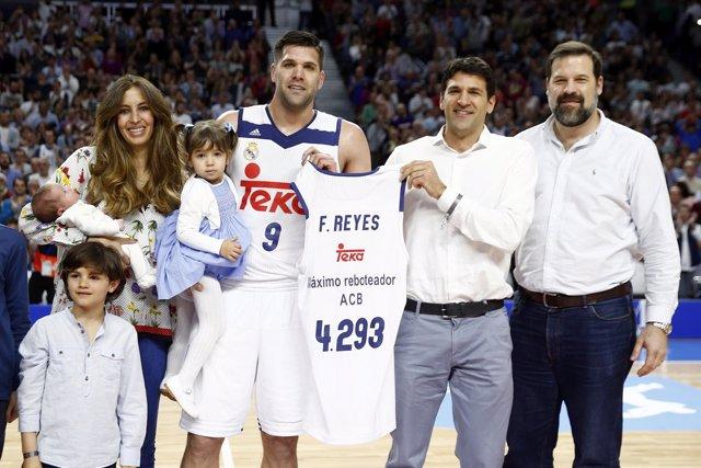 Felipe Reyes se convierte en el máximo reboteador de la historia de la ACB