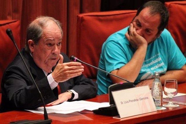Lluís Prenafeta y David Fernández.