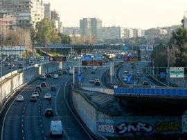 Madrid reducirá la velocidad a 70km/h en la M-30 en 2018 y limitará la circulación de coches contaminantes en 2025