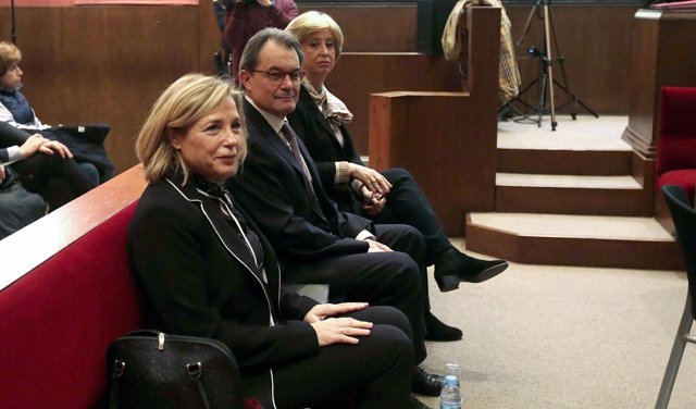 Juicio a Artur Mas, Joana Ortega e Irene Rigau.