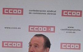 """Rey aspira a salir del Congreso de CCOO Guadalajara con un sindicato """"más fuerte"""""""