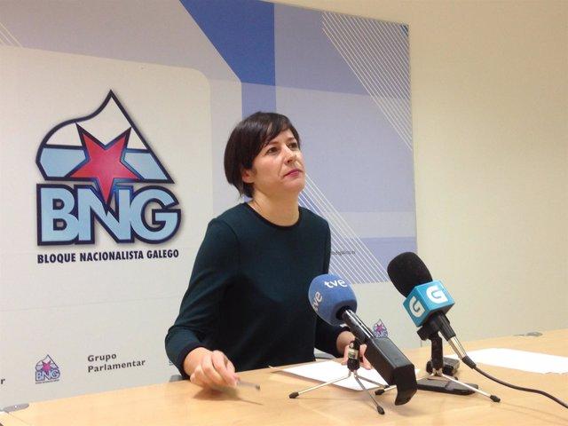 Ana Pontón, portavoz parlamentaria del BNG