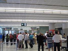 El aeropuerto de Palma registra un aumento de pasajeros del 1,6% en enero