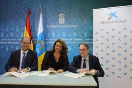 la Caixa y el Gobierno de Canarias renuevan el programa de personas mayores en 29 centros de las islas