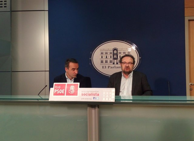 Pere Joan Pons y Damià Borràs