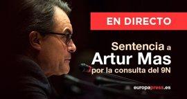 Sentencia a Artur Mas por el 9N | Así te lo hemos contado