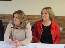 """Carmen Ortiz ve """"compatible"""" la presidencia de la Junta con el liderazgo del PSOE"""