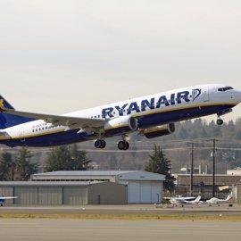 El vuelo Santander-Málaga de Ryanair se operará todo el año