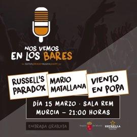 'Nos vemos en los bares': 24 conciertos de 31 grupos de la Región