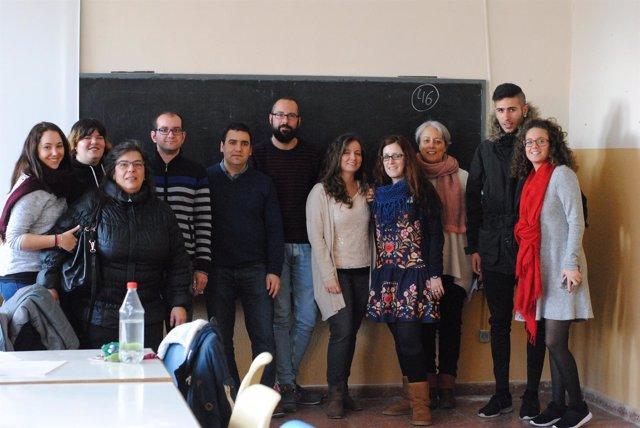 Participantes en el curso de formación de Feafes.