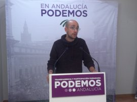 """Podemos critica el """"anuncio del anuncio"""" de Díaz y le invita a irse """"si no tiene claro que su prioridad sea Andalucía"""""""