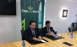 Caja Rural de Soria y Educación firman un convenio para impulsar la Formación Profesional Dual en la provincia