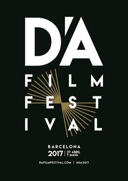 Cartel del D'A Film Festival 2017 de Barcelona