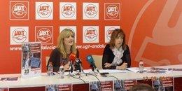Castilla y auxi jimenez sindicato UGT Andalucía Málaga informe mercado