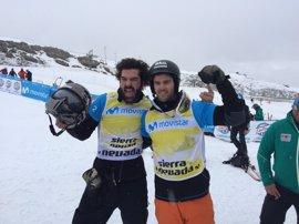 Lucas Eguibar y Regino Hernández se cuelgan la plata por equipos