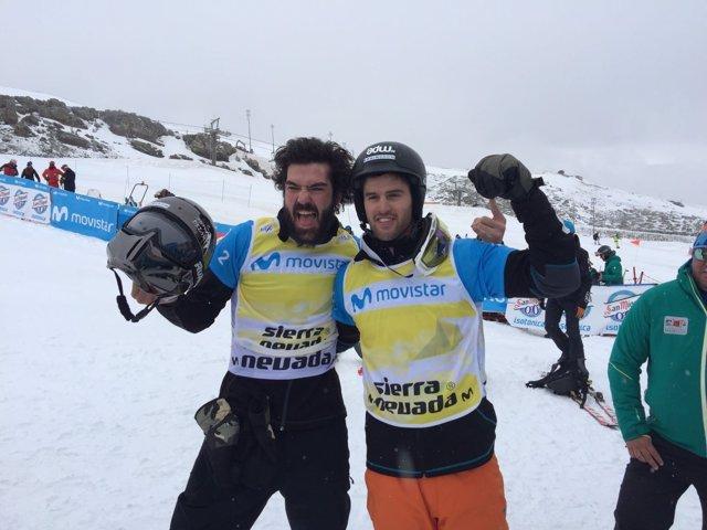 Lucas Eguíbar y Regino Hernández ganan la plata en el Mundial de Sierra Nevada