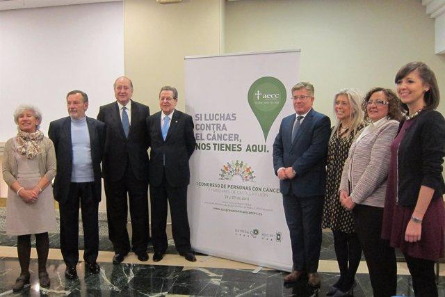 Valladolid. Presentación del I Congreso de Personas con Cáncer