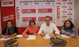 La candidatura de Cedrún alcanza un acuerdo con el Sector Crítico de cara al XI Congreso de CCOO Madrid