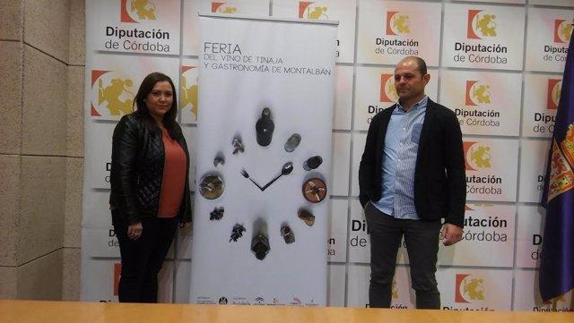 Carrillo y Ruz presentan la V Feria del Vino de Tinaja y Gastronomía