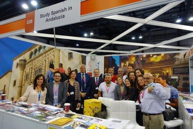 Patronato de Turismo expone en Glasgow la oferta idiomática de Córdoba