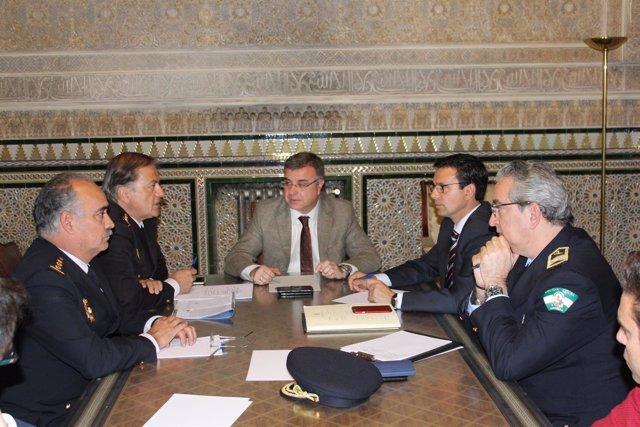 Reuníon de Subdelegación y Ayuntamiento sobre la seguridad en la zona Norte