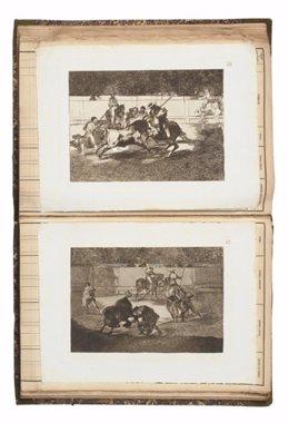 Sotheby's ofrecerá el conjunto completo de La Tauromaquia de Goya
