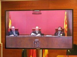 """El TSJC concluye que Mas, Ortega y Rigau desobedecieron """"consciente y deliberadamente"""""""