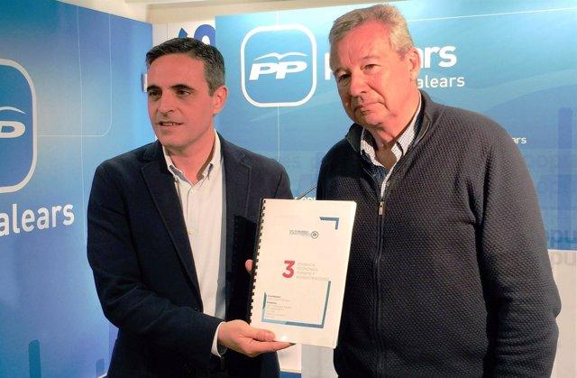 José Vicente Marí Bosó presenta el documento de la ponencia de economía
