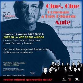 Joan Isaac, Ismael Serrano y Rozalén cerrarán el ciclo 'Cine, Cine' en homenaje a Luis Eduardo Aute