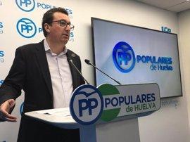 """PP lamenta que Díaz venga a Huelva """"sin compromisos claros"""" tras """"el clamor"""" por una sanidad digna"""