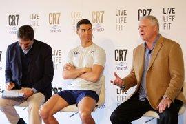Cristiano Ronaldo presenta su nuevo proyecto de fitness en Madrid