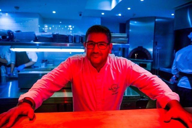 El chef malagueño Dani García dos michelin estrellas a cuatro manos puente marbe