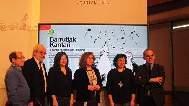 Martín, Loroño, Fernández, Alonso, Madariaga y ALberdi