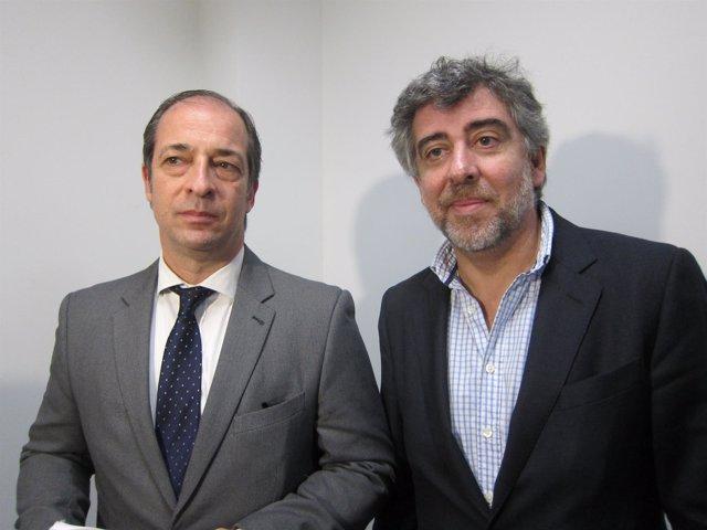 Los abogados Rafael Entrena y Jordi Pina