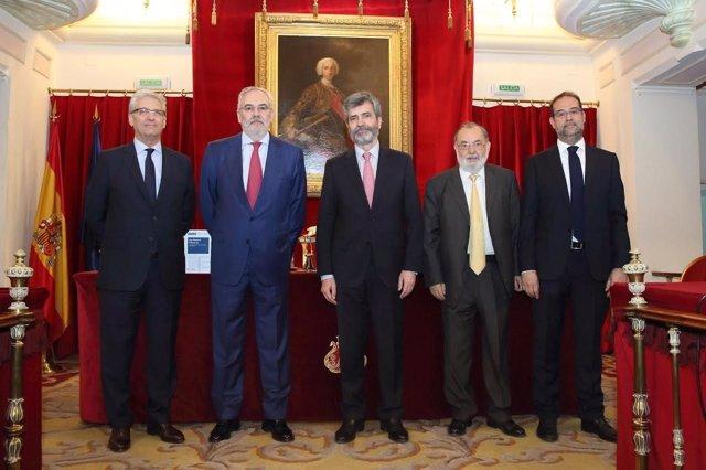 El presidente del Tribunal Supremo y del CGPJ, Carlos Lesmes