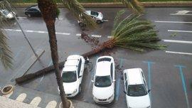 La Aemet reduce a nivel amarillo el aviso por el temporal en la Región y lo extiende hasta el miércoles