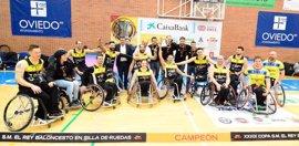 El CD Ilunion jugará la Final Four de la Champions Cup de baloncesto en silla de ruedas