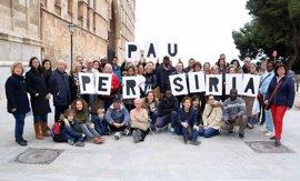 Cáritas Mallorca se une a la movilización por la paz en Siria