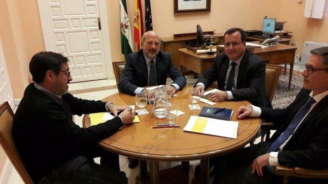 Reunión de Gil Toresano y Cabrera.
