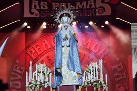Abogados Cristianos se querellará contra la virgen 'drag' de Las Palmas de Gran Canaria