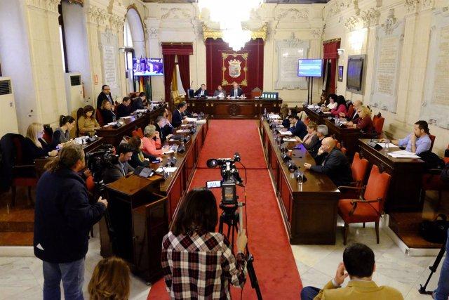 Pleno debate de presupuestos del Ayuntamiento de Málaga