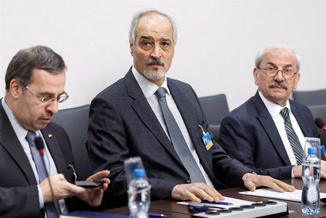 Bashar al Jaafari, negociador sirio